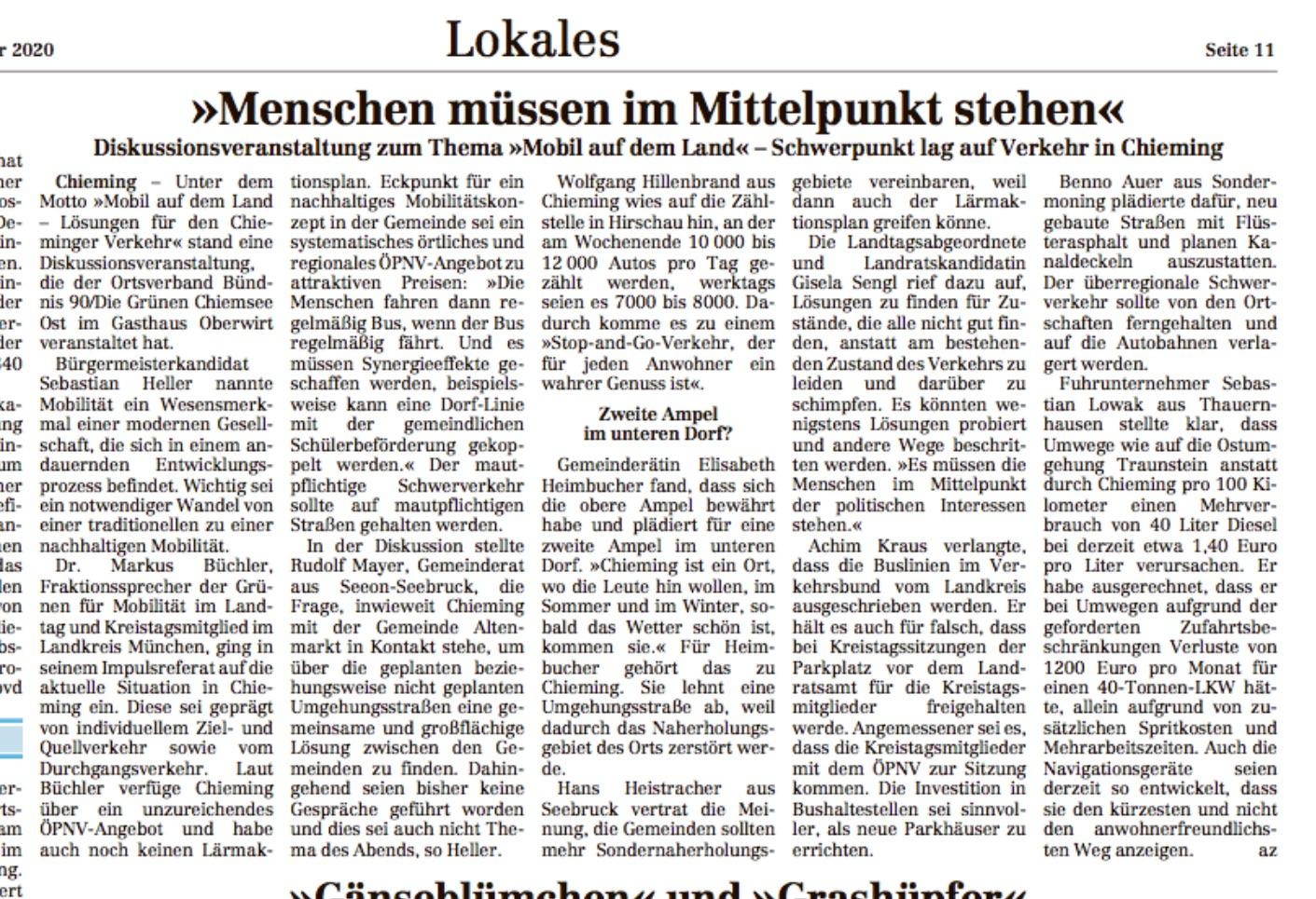 Presseartikel TT 27.01.2020