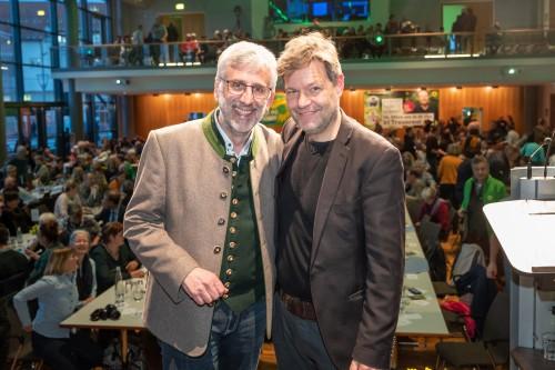 Sebastian Heller mit Robert Habeck